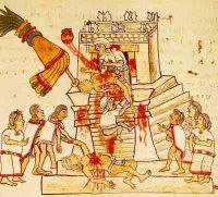 sacrifício asteca