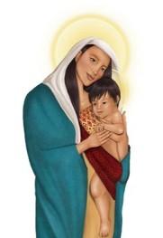 A especialidade da Babilônia: Igreja Católica cria imagem da 'Nossa Senhora da Amazônia' e o 'Jesus' indígena