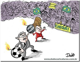 charge manifestações