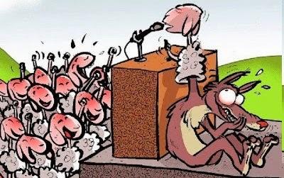 Resultado de imagem para imagens de discurso demagogo de politico