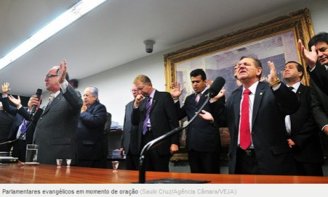 parlamentares evangelicos
