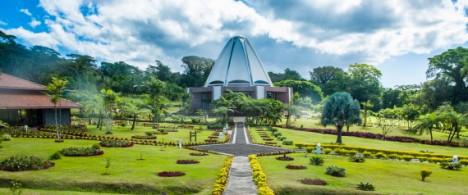 The Bahai House of Worship Samoa, Upolu, British Samoa, South Pacific, Pacific
